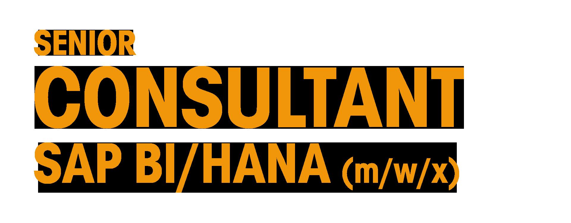 senior consultant